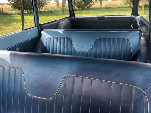 1963 Ford Falcon Squire Wagon 5