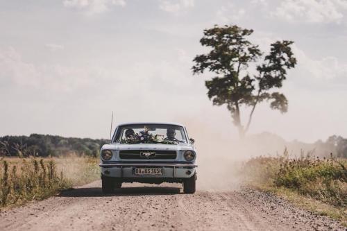 Mustang-Hochzeit