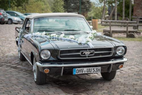 Mustang Cabrio Hochzeit